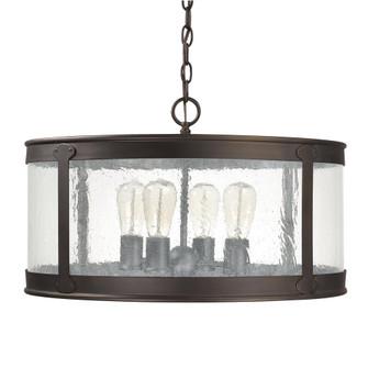 4 Light Outdoor Hanging Lantern (42 9568OB)