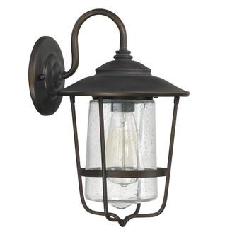 1 Light Outdoor Wall Lantern (42|9601OB)