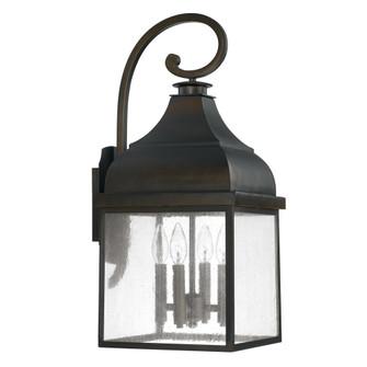 4 Light Outdoor Wall Lantern (42|9643OB)