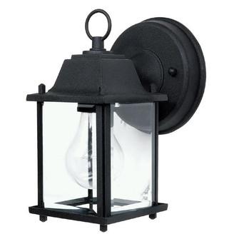 1 Light Outdoor Wall Lantern (42|9850BK)