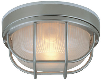 Cast Aluminum Large Flushmount (Z395-SS)