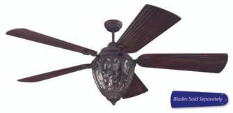 70'' Ceiling Fan w/Light Kit, Blade Options (20 OV70AG)