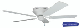 52'' Hugger Ceiling Fan, Blade Options (20|PFC52W)
