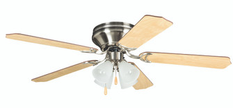 "52"" Hugger Ceiling Fan w/Blades & 4 Light Kit (20|BRC52BNK5C)"