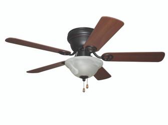 """42"""" Hugger Ceiling Fan w/Blades & Light Kit (WC42ORB5C1)"""