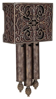 Carved Scroll Westminster w/ 3 Short Tubes (20|CA3-RC)