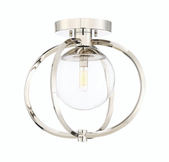 1 Light Semiflush (45551-PLN)