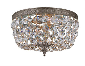 Crystorama 2 Light Clear Crystal Bronze Ceiling Mount (205|710-EB-CL-MWP)