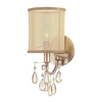 Hampton 1 Light Brass Sconce (205|5621-AB)