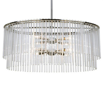 Bleecker 8 Light Polished Chrome Chandelier (205|398-CH)