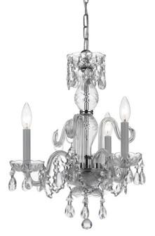 Traditional Crystal 3 Light Italian Crystal Chandelier (205|5044-CH-CL-I)