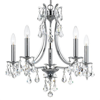 Cedar 5 Light Polished Chrome Mini Chandelier (5935-CH-CL-MWP)