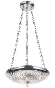 Celina 3 Light Polished Chrome Mini Chandelier (9943-CH)
