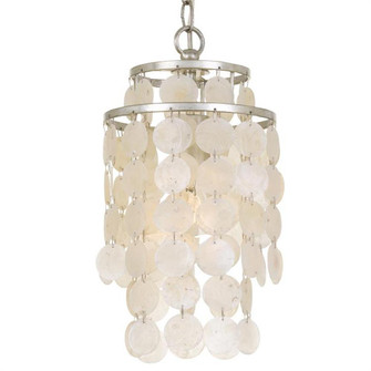 Brielle 1 Light Antique Silver Mini Chandelier (BRI-3000-SA)