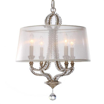 Garland 4 Light Distressed Twilight Crystal Bead Mini Chandelier (205|6764-DT)