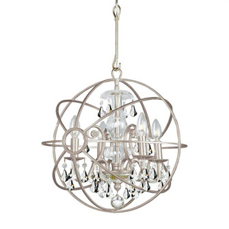 Solaris 4 Light Clear Crystal Silver Mini Chandelier (205|9025-OS-CL-MWP)