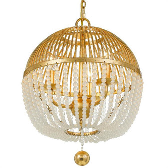 Duval 3 Light Antique Gold Chandelier (205|DUV-623-GA)