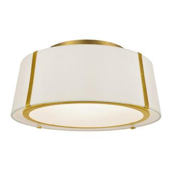 Fulton 3 Light Gold Ceiling Mount (205 FUL-905-GA)