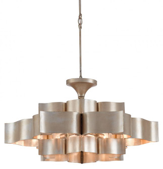 Grand Lotus Silver Large Chandelier (92|9000-0051)