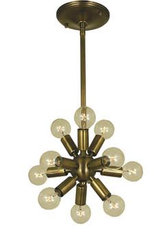 11-Light Brushed Nickel Simone Chandelier (84|4391 BN)