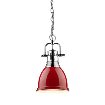 Duncan Small Pendant with Chain (36|3602-S CH-RD)