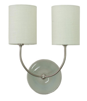 Scatchard Stoneware Wall Lamp (34 GS775-2-SNGG)