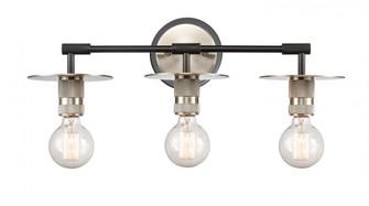 3 Light Bath Vanity Light (3442 431-3W-BSN)