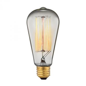 1-Light Filament Bulb (91 1092)