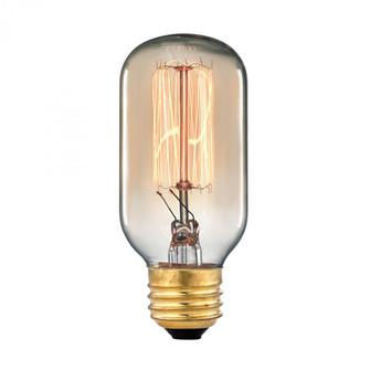 Filament Bulb - Gold, 60 Watts, A19 E26 Medium Base (91 1102)