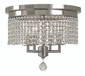 4-Light Polished Silver Princessa Flush / Semi-Flush Mount (84 2273 PS)