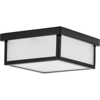 """Box LED Black One-Light 10"""" LED Flush Mount (149 P350114-031-30)"""