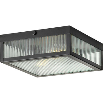 """Dwyer Collection Black Two-Light 11"""" Flush Mount (149 P350152-031)"""