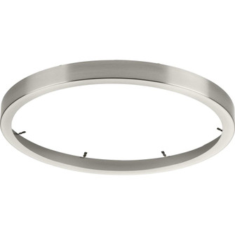 Everlume Collection Brushed Nickel 14'' Edgelit Round Trim Ring (149|P860051-009)