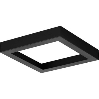 Everlume Collection Black 7'' Edgelit Square Trim Ring (149|P860053-031)
