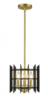 3 Light Mini Pendant (276 338-10MB+SBR)