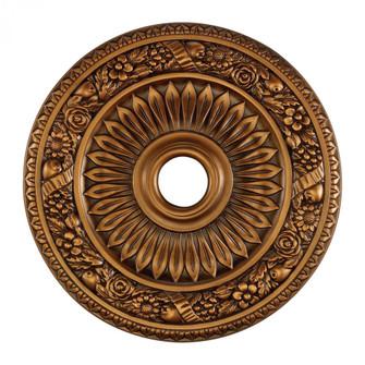 Floral Wreath Medallion 24 Inch in Antique Bronze Finish (91|M1006AB)