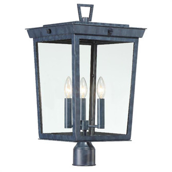 Belmont 3 Light Graphite Outdoor Lantern Post (205 BEL-A8069-GE)
