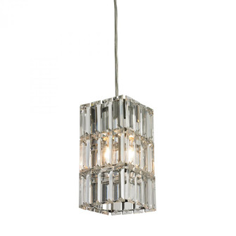 Cynthia 1-Light Mini Pendant in Polished Chrome with Crystal (91|31488/1)