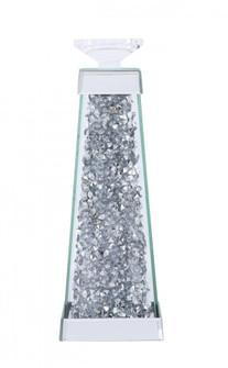 Sparkle 4.7 in. ContemporarySilver Crystal Candleholder (758|MR9239)