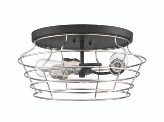 3 Light Flushmount (20 50683-FBBNK)