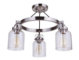 3 Light Convertible Semiflush (20 53653-BNK)