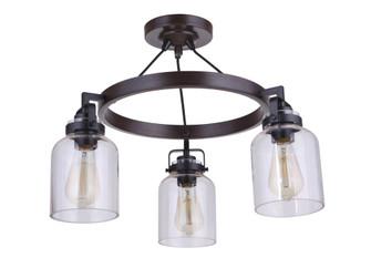3 Light Convertible Semiflush (20 53653-FBDT)