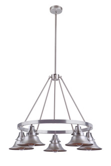 5 Light Outdoor Chandelier (54025-SA)