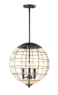 Heirloom-Multi-Light Pendant (11546BKBUB)