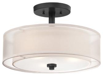 3 LIGHT SEMI FLUSH (10 4107-66)