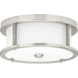 """Mast Collection Two-Light 13"""" Flush Mount (149 P350144-009)"""