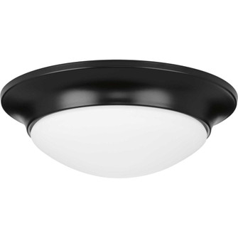 """One-Light 11-1/2"""" Etched Glass Flush Mount (149 P350146-031)"""
