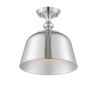 Berg Polished Nickel 1 Light Semi-Flush (128|6-3750-1-109)