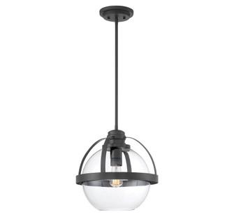 Pendleton Matte Black 1 Light Pendant (128|7-7201-1-89)