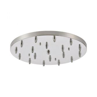 Pan Only, 18-Light Round (91 18R-CHR)